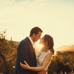 Wedding Livadia Bride Groom Sunset