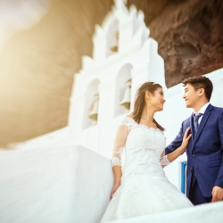 Stephen & Maria - Next Day Destination Photography - Santorini