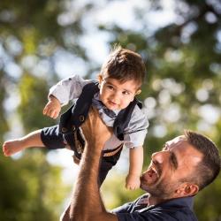 Christening Baptism Athens Greece Family Nextday Boy Father