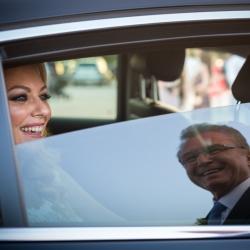Wedding Athens Bride Reflection Father Greece
